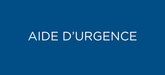 Aide d'urgence
